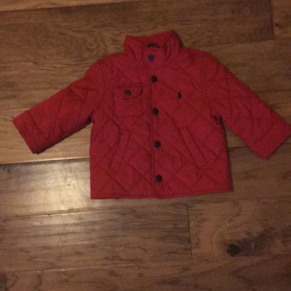 09c28db4b Red Polo by Ralph Lauren Jacket. M 5ad360e7b7f72b4487b3fe03